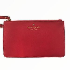 KATE SPADE   Saffiano Leather Wristlet Authentic
